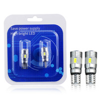 Winsun 2X Auto Led T10 W5w 194 168 Canbus DC 12v Car Interior Light 5630 SMD Bright White Wedge Clearance Lamp License Lights Bulbs