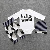 Wholesale baby mustache clothes for sale - Group buy Autumn style children s clothing sets Kids cotton clothing with long sleeves mustache print suit baby boy clothes