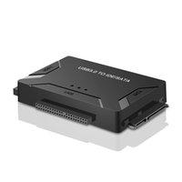sata sürücü ide toptan satış-Yüksek Hızlı USB SATA IDE Dış 2.5 inç Dizüstü Masaüstü Sabit Disk için 3.5 İnç Sabit Disk Adaptörü HDD Dönüştürücü için 3.0