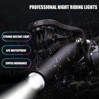 IPX4 Waterproof 300LM T6 LED Bicycle Lights MTB Road Bike Headlight USB Rechargeable 5 Modes Bicycle Handle Bar Front Lights