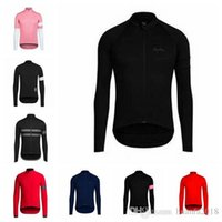 Wholesale long sleeve cycling jersey sale for sale - Group buy New Hot Sale RAPHA team Cycling long Sleeves jersey Top Brand Quality Bike Wear Comfortable riding clothes D2813