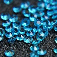 ingrosso dispersione della tabella dei cristalli del diamante di cerimonia nuziale-5000pcs 4.5mm 1Carat Wedding Decoration acrilico Scatter tabella cristalli diamanti acrilico diamante cristallo coriandoli