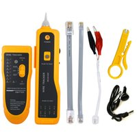 ingrosso cablaggio cat6-UTP STP Cat5 Cat6 RJ45 Line Finder Telefono Wire Tracker Diagnostica Tone Tool Kit LAN Cable Cable Tester