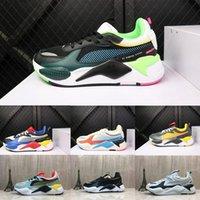 marka rahat ayakkabılarla eşleş toptan satış-Puma rs Pumas Rs-x 2019 son renk eşleştirme Desiner Sneakerx Trafo RS-X Koşucu retro hindistan cevizi koşu ayakkabıları erkek gelgit marka spor rahat ayakkabılar