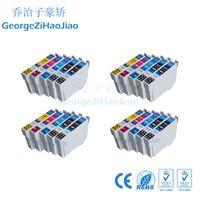 cartouche epson xp achat en gros de-20 cartouches d'encre T1811 T1812 T1813 T1814 compatibles avec l'imprimante Epson XP-212 XP-312 XP-315 XP-215 XP-415