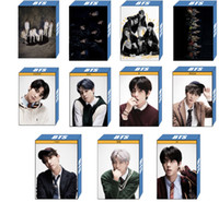 Wholesale post cards for sale - Group buy 22pcs bts map of the soul lomo card