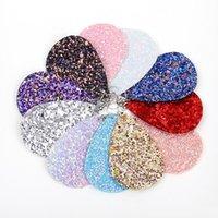 boho tarzı mücevherat toptan satış-12 Stilleri Moda Boho PU Deri Pullu Damla Küpe Charm Parlak Küpe Kadınlar Takı Noel Hediyesi