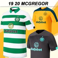 maillots de gardien de but achat en gros de-19 20 MCGREGOR GRIFFITHS Maillots Hommes Football SINCLAIR Celtic FORREST BROWN Rogić CHRISTIE Domicile Extérieur gardien manches courtes football Chemises