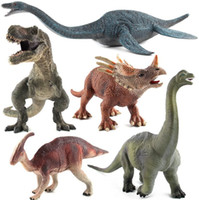 Wholesale New Wonderful Different Simulation Big Dinosaurs Shapes Kids Toys Home Party Cute Gifts Decor