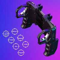 Wholesale wireless gamepad iphone for sale - Group buy Pubg Gamepad For Mobile Phone Game Shooter Trigger Fire Button For IPhone Android Phone Gamepad Pubg Controller Joystick grip