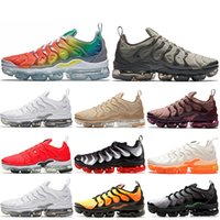 Wholesale rainbow 45 for sale - HOT SALE Rainbow PURE PLATINUM TN Plus Running Shoes Smokey Mauve STRING Fades Blue DARK STUCCO Mens Women Athletic Sports Sneakers