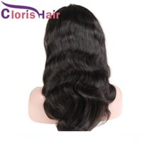 Wholesale best glueless lace front wigs for sale - Group buy Glueless Lace Front Human Hair wigss Pre Plucked Hairline Body Wave Peruvian Remy Hair wigss For Black Women Best wigs Supplies Natural Colo