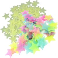 Wholesale korean star glasses for sale - Group buy 100 home wall glow in the dark stars stickers Planet Wall Ceiling Decor Stick On Space ceiling decoration d luminous CM