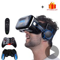 Wholesale 10 Helmet D Glasses Virtual Reality Casque For iPhone Android Smartphone Smart Phone Goggles Gaming D Lunette