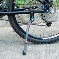 pie de bicicleta ajustable al por mayor-1 PC Bike Kickstand Parking Racks MTB Mountain Road Bike Stand Foot Brace Support Side Adjustable Bicycle Accessories Tool