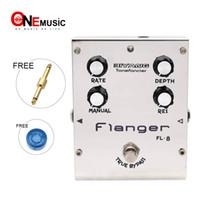 pédales d'effets flanger achat en gros de-Biyang ToneFancier Series FL-8 Pédale d'effet pour guitare électrique Flanger True Bypass