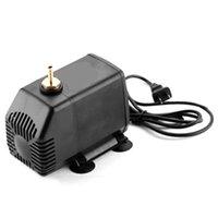 cnc spindelkühlung großhandel-Graviermaschine Werkzeugkühlung 80W 3.5M Wasserpumpe für CNC-Fräser 2,2 kW Spindelmotor und 1.5Kw Spindle Motor, US-Stecker