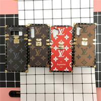 Wholesale genuine leather china resale online - Luxury plaid phone cover for iphone pro promax X XS XSMAX PLUS XR Cover For galaxy note10 note10pro S10 S11 S11P s8 s9 s10plus