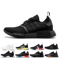 Wholesale perfect winter boots for sale - Group buy Hot R1 Primeknit PK Perfect Nmd Runner Running Shoes For Women Men High Quality Primeknit Sneakers Brand Trainers Sports Shoes