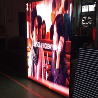 Wholesale use led tv resale online - P3 Indoor x500mm SMD2121 led die casting rental display cabinet use novastar card for Stage background led display TV station
