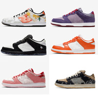 Wholesale army color sports shoes resale online - 2020 Running shoes Low Shoes Various Color High quality Sneaker Backboard Sport Popular Flat Men and Women Trainers Lace up Top Quality Shoe