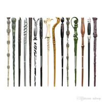 Wholesale action figure props for sale - Group buy 34 styles Harry P Magic Wand Props action figures no box Halloween christmas children gift V105