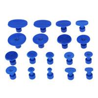 tiras de vedação de plástico venda por atacado-18pcs Car Auto Dent Corpo reparar azul Extrator Tabs ventosas Ferramenta Acessórios