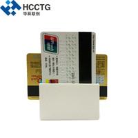 china bluetooth grátis venda por atacado-Preço barato Mini Mobile 3 Faixa MSR IC Bluetooth MPOS Leitor de Cartão de Furto com SDK Livre MPR100