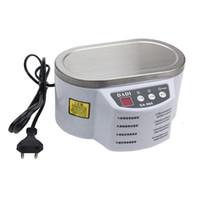 limpador ultra-sônico de qualidade venda por atacado-Alta qualidade Inteligente Ultrasonic Cleaner para Jóias Máquina de Limpeza de Placa de Circuito de Óculos de Controle Inteligente Ultrasonic Cleaner Bath 30 W / 50 W