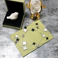 ingrosso collana di gioielli-Collana maglione 90 cm Materiale ottone e collana di marca in 1,2 cm 1,4 cm 1,6 cm fiore con conchiglia naturale e pietra per ebreo da donna