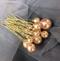Wholesale u hair sticks pins clips for sale - Group buy Bride Pearl Hairpins Set Wedding Bridal Pearl Hair pins For Women Hair Accessories U Shape Hairpin set Sticks