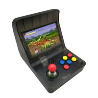 Wholesale retro gaming consoles online - New SFC MD GBA Retro Arcade Game Console A8 Gaming Machine Classic Games Support TF Card Expansion Gamepad Control AV Out quot