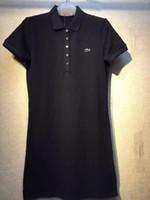 heiße schwarze röcke großhandel-S-XL 2019 Sommer Schwarz Weiß Neues Freizeitkleid und unterer Rock, heißer Sommersommerockerrock