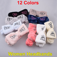 Wholesale head band wraps for sale - Group buy Omg Bowknot Hairband Elastic Women Headbands Hairlace Girls Turban Makeup Head band bow Head wraps HairPins for Washing Face Shower Spa Mask