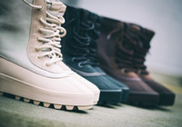 Wholesale flat pirate boots resale online - Fashion Designer Pirate Peyote Moonrock Yeezy Season and Duckboot for Women and Men Size