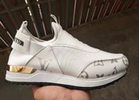 senhoras de marca calçados esportivos venda por atacado-NOVAS 2019 senhoras da marca clássica calçados casuais designer de moda calçados esportivos e de lazer de couro sapatos de grife das mulheres 9021-26
