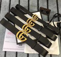 Wholesale asian belts for sale - Group buy Hotsales designers belts men women Jeans belts For men Women Metal buckle belt with the cm cm size as gift GUCCI Inew