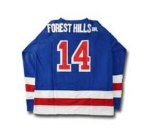 Wholesale J Cole Forest Hills Drive Hockey Jerseys Stitched New York Men s Stitched Custom Number Name Jerseys