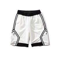 pantalones de baloncesto spandex al por mayor-Pantalones cortos de diseño Pantalones cortos deportivos para hombres Pantalones cortos de baloncesto Hombres Pantalones de marca Nueva moda Jogger The Shot Goat Men Blanco y negro