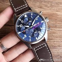Wholesale leather watche resale online - Mens mm stainless Bracelet Swiss Mens Racing Coffee noodles Watche