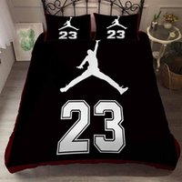 Wholesale boys queen size bedding set resale online - 3pcs Sports Shoes Basketball Bedding Set Bed Linen for Teenages Sheet Pillowcase Boys Duvet Cover Sets Single Twin Full Size