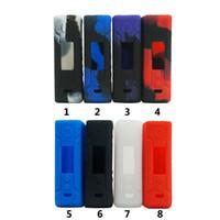 Wholesale damper kit resale online - Silicone Case for voopoo Drag W TC Mod Kit vape cover rubber Skin Warp Sticker Sleeve shell hull damper vape gel mod