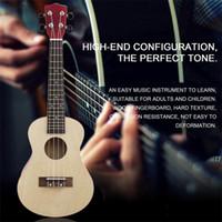 ukulele 23 polegadas venda por atacado-23 Polegada De Madeira Ukulele Hawaii Estilo Rosewood Ukelele Instrumento de Música cor de madeira Frete Grátis