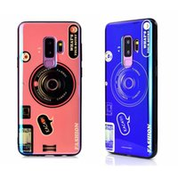 Wholesale pink old phones for sale - Group buy Camera Blu Ray Soft IMD TPU Silicone Case For Iphone XR XS MAX X Samsung Note S10 S10e S9 Bling Retro Vintage Old Luxury Phone Cover