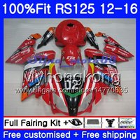 Wholesale 125 kit for sale - Injection OEM For Aprilia RS RS125RR RS4 HM RSV125 JOMO Red hot RS RS125 Fairing kit