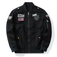 militärischer modemantel für männer großhandel-2019 neue Design Mode Baumwolle Männer Jacke Militärjacke Luxus Mantel Verkauf M-4XL
