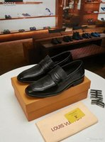 homem na moda venda por atacado-Iduzi Trendy Britânico Designer Homens apontou veludo Azul Vermelho Homecoming vestido de festa sapatos de casamento oxford flats mocassins masculinos mocassins