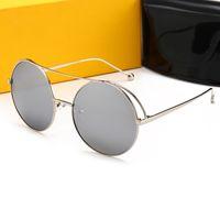 цена бокового стекла оптовых-FENDI 0840 Новый стиль Самая низкая цена Мужчины 2019 Солнцезащитные очки женщин Солнцезащитные очки Солнцезащитные стекла поставляются с тканью для очистки коробки