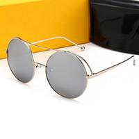 preço de caixa de vidro venda por atacado-FENDI 0840 Novo estilo Menor preço Men 2019 Sunglasses Mulheres Sunglass Sun vidro vêm com caixa de pano de limpeza