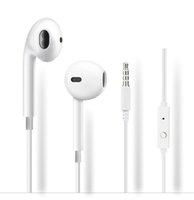 iphone5 auriculares mic al por mayor-Auriculares intrauditivos universales en la oreja Auriculares con micrófono Control de volumen Auriculares manos libres para iphone5 6 Samsung s6 s7 s8 teléfono android